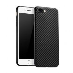 Carcasa, Hoco, Ultra thin series carbon fiber, pentru Apple iPhone 7 Plus, Negru - Husa Telefon