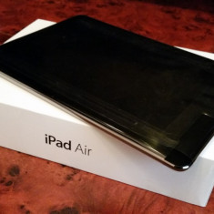Tableta Apple iPad Air, model A1475, WI FI + 4G, 9.7, noua, neverlocked - Tableta iPad Air Apple, Gri, 16 GB