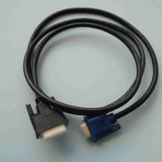 Cablu Video DVI (24+5) - VGA 1.8m - nou - Cablu PC Oem
