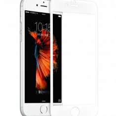 Tempered glass, Hoco, SP2, pentru Apple iPhone 6/6s plus, Alb - Husa Telefon