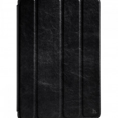 Flip cover, Hoco, Crystal Series Protective Case for iPad 4/3/2, pentru Apple iPad 4/3/2, Negru - Husa Tableta