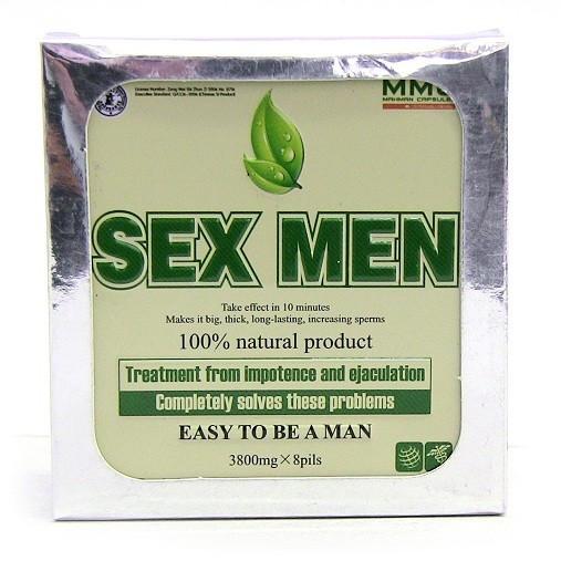 Pastile potenta Sex Men,pentru o durata mai lunga.