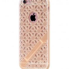 Carcasa Hoco, Coupe Series Glaze Bracket, pentru Apple Iphone 6 plus/6 s plus, Gold - Husa Telefon