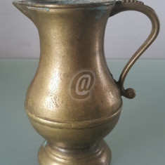 Cana bronz, vintage, 12 cm - Halba