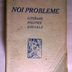 H. Sanielevici - Noi probleme literare, politice, sociale