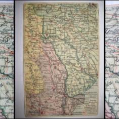 Vedere veche Harta militara Austria-Bucovina.