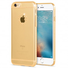 Carcasa, Hoco, Ice Crystal series pentru iPhone 6/6s +, gold - Husa Telefon