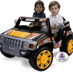 Suv Electric Copii Safari Pick Up 12V Injusa - Masinuta electrica copii