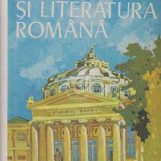 Limba si literatura romana. Manual pentru clasa a XII-a (1985) - Manual scolar didactica si pedagogica, Clasa 12, Didactica si Pedagogica