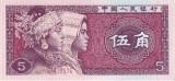 CHINA - BANCNOTA 5 JIAO 1980 UNC