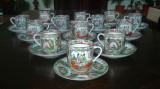 Serviciu Ceai/Cafea portelan vechi Japonia TAKASHI