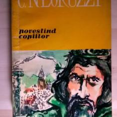 C. Negruzzi povestind copiilor