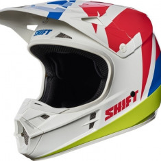 MXE Casca Motocross Shift MX Whit3 Termac alb Cod Produs: 17232008SAU