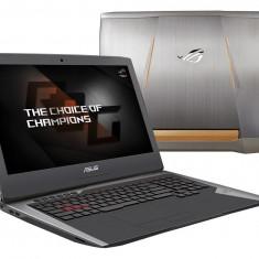 Laptop Asus ROG G752VS(KBL)-BA263T, 17.3 FHD (1920X1080) LED-Backlit, Anti-Glare (mat), 120Hz, Intel Core i7-7700HQ
