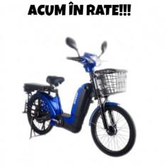 Bicicleta electrica, tip scuter, fara carnet si inmatriculare ZT-10 LASER 2.0 - Moped