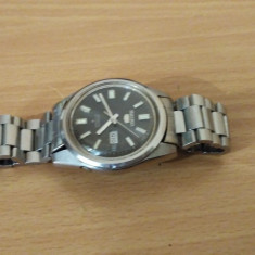 CEAS AUTOMATIC SEIKO 5 FINDER 6119-8083 21 JEWELS - Ceas barbatesc Seiko, Casual, Mecanic-Automatic, Inox, Ziua si data