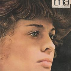 Revista CINEMA nr. 10/1971 Julie Christie Corina Chiriac Irina Gardescu - Revista culturale