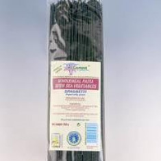 Spaghetti integrale grau dur cu alge marine BIO 250 g - Paste fainoase