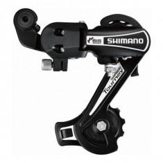Schimbator spate Shimano Tourney DM TY21A 11-28T, 6 viteze, prindere pe surubPB Cod:SHI-78022 - Piesa bicicleta