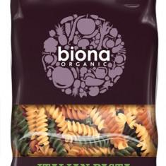 Fusilli tricolore din grau dur BIO 500 g - Paste fainoase