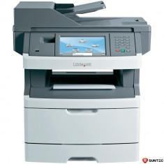 Imprimanta Multifunctionala laser monocrom Lexmark x464de, A4, Full duplex, Retea, Copiator, Scaner, Fax, Usb, 40 ppm