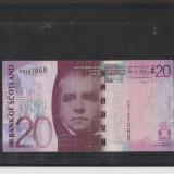 BBS1 - ANGLIA/SCOTIA - 20 LIRE STERLINE - bancnota europa