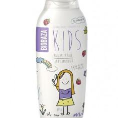 Balsam de par natural pentru copii (smochine si capsuni), 250 ml - Biobaza - Cosmetice copii