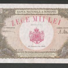 ROMANIA  10000  10.000  LEI   20  DECEMBRIE   1945  [4]   XF+