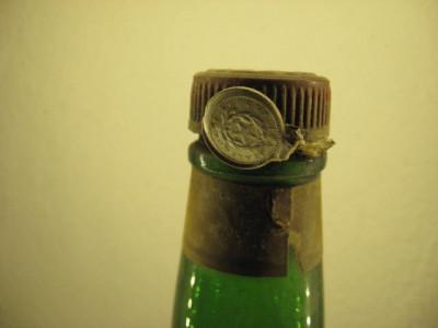 STOCK TRIESTE doppio punch all'arancio  seal metal  c l.100 gr. 50 rare 1949 foto
