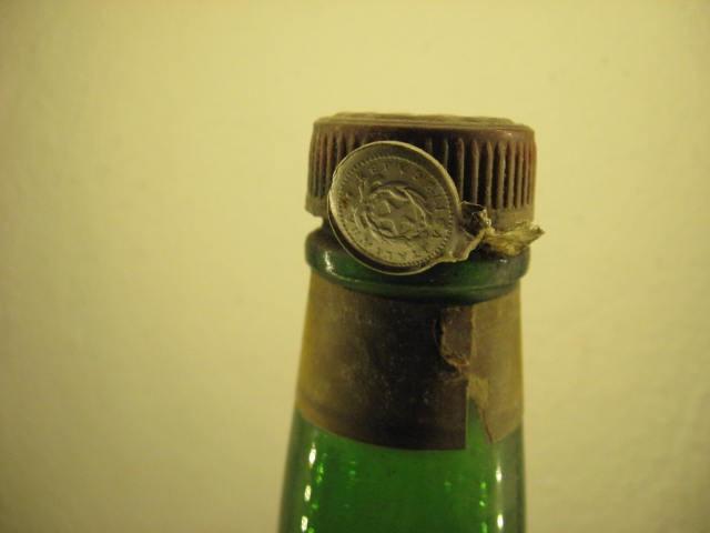 STOCK TRIESTE doppio punch all'arancio  seal metal  c l.100 gr. 50 rare 1949