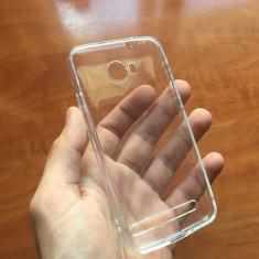 Husa noua Huawei Y3 2 II Silicon TRANSPARENTA protectie Folie sticla - Husa Telefon
