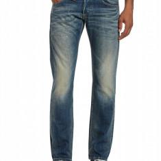 Blugi Replay Zeppo Men's Jeans W31 L34 - Blugi barbati, Culoare: Albastru, Lungi, Prespalat, Slim Fit, Normal
