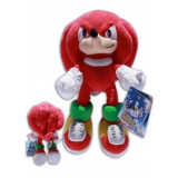Sonic The Hedgehog, Jucarie Plus Knuckles 30 cm - Figurina Desene animate