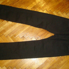 Blugi LEVIS 501-Marimea W36xL36 (talie-96cm, lungime-120cm) - Blugi barbati Levi's, Culoare: Negru, Prespalat, Drepti, Normal