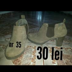Pantofi la super Pret! - Pantof dama H&m, Culoare: Camel, Marime: 39