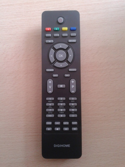 Telecomanda ALBA LCDW16HDF DIGIHOME LCD32847 DUAL DTFT152B FINLUX 22FLD850VHU