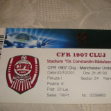 Bilet meci fotbal - CFR Cluj - Manchester United - 02.10.2012-Champions League