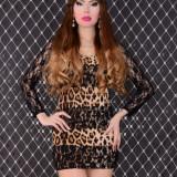 Rochie Luxurious Look  Brown