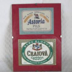 Etichete vechi de bere inramate, etichete de bere romaneasca