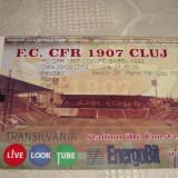Bilet meci fotbal - CFR Cluj - F C Basel - 29. 08. 2012