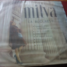 DISC VINIL MILVA LA BUCURESTI - Muzica Pop