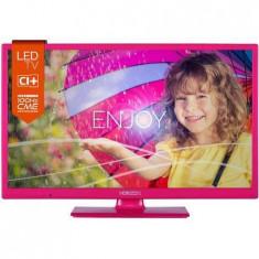 Horizon Televizor LED 24HL712H, 24inch, 1366 x 768 px, UltraSlim, roz (24HL712H)