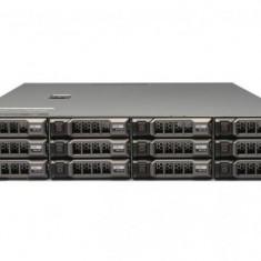Server Dell PowerEdge R510, Rackabil 2U, 2 Procesoare Intel Quad Core Xeon E5620 2.4 GHz, 12 GB DDR3 ECC Reg, 12 x caddy 3.5inch,