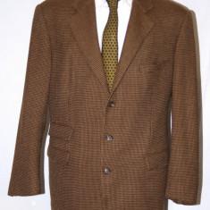 Sacou Polo by Ralph Lauren original - Sacou barbati, Marime: 54, Culoare: Multicolor, 3 nasturi, Marime sacou: 54, Lana