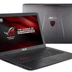 Laptop Gaming Asus ROG GL552VX, i7, GTX 950 4GB, 16GB DDR4, 256SSD+1TB, Win 10 - Laptop Asus, Intel Core i7, Diagonala ecran: 15, Mai mare de 1 TB