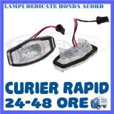 SET LAMPI PLACUTA INMATRICULARE - HONDA ACORD, CIVIC, CITY, LEGEND - Led auto ZDM, Universal
