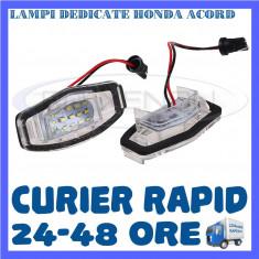 SET LAMPI PLACUTA INMATRICULARE - HONDA ACORD, CIVIC, CITY, LEGEND
