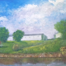 Pictori romani - Pictor roman, Peisaje, Ulei, Impresionism