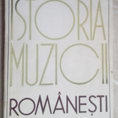 PETRE BRANCUSI - ISTORIA MUZICII ROMANESTI (COMPENDIU, 1969)