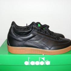 Adidasi Diadora Original Premium Trainers nr. 45 - Adidasi barbati Diadora, Culoare: Negru, Piele naturala